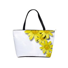 Flowers Spring Yellow Spring Onion Shoulder Handbags by Nexatart