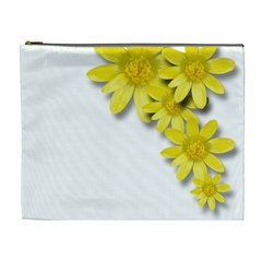 Flowers Spring Yellow Spring Onion Cosmetic Bag (xl) by Nexatart