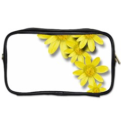 Flowers Spring Yellow Spring Onion Toiletries Bags 2 Side by Nexatart