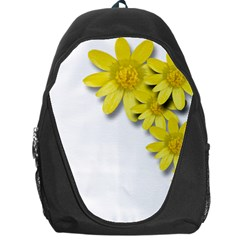 Flowers Spring Yellow Spring Onion Backpack Bag