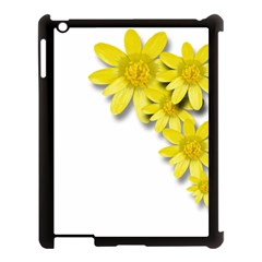 Flowers Spring Yellow Spring Onion Apple Ipad 3/4 Case (black) by Nexatart