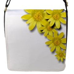 Flowers Spring Yellow Spring Onion Flap Messenger Bag (s) by Nexatart