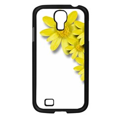 Flowers Spring Yellow Spring Onion Samsung Galaxy S4 I9500/ I9505 Case (black) by Nexatart