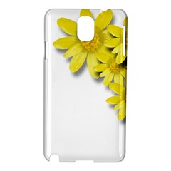Flowers Spring Yellow Spring Onion Samsung Galaxy Note 3 N9005 Hardshell Case