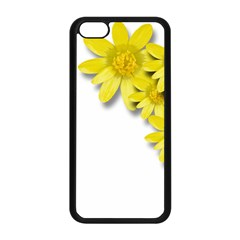Flowers Spring Yellow Spring Onion Apple Iphone 5c Seamless Case (black)