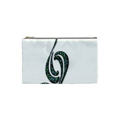 Scroll Retro Design Texture Cosmetic Bag (small)  by Nexatart