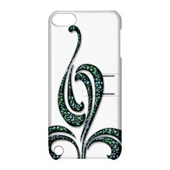 Scroll Retro Design Texture Apple Ipod Touch 5 Hardshell Case With Stand by Nexatart