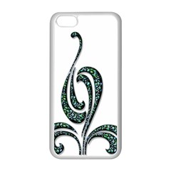 Scroll Retro Design Texture Apple Iphone 5c Seamless Case (white) by Nexatart