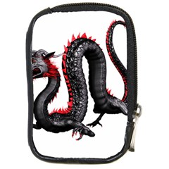 Dragon Black Red China Asian 3d Compact Camera Cases by Nexatart