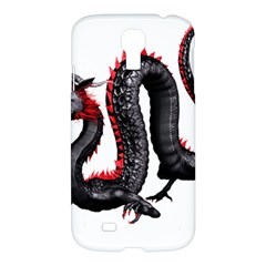 Dragon Black Red China Asian 3d Samsung Galaxy S4 I9500/i9505 Hardshell Case