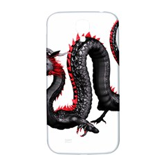 Dragon Black Red China Asian 3d Samsung Galaxy S4 I9500/i9505  Hardshell Back Case