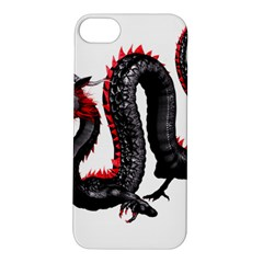 Dragon Black Red China Asian 3d Apple Iphone 5s/ Se Hardshell Case