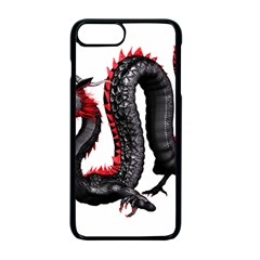 Dragon Black Red China Asian 3d Apple Iphone 7 Plus Seamless Case (black)