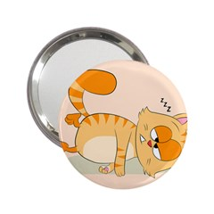 Even Cat Hates Monday 2 25  Handbag Mirrors by Catifornia