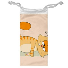 Even Cat Hates Monday Jewelry Bag by Catifornia