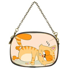Even Cat Hates Monday Chain Purses (two Sides)  by Catifornia