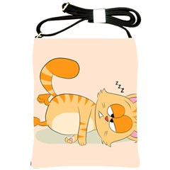Even Cat Hates Monday Shoulder Sling Bags by Catifornia