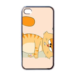 Even Cat Hates Monday Apple Iphone 4 Case (black) by Catifornia