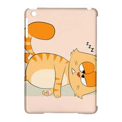 Even Cat Hates Monday Apple Ipad Mini Hardshell Case (compatible With Smart Cover) by Catifornia