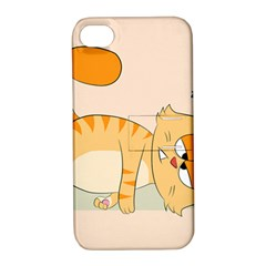 Even Cat Hates Monday Apple Iphone 4/4s Hardshell Case With Stand by Catifornia