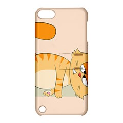 Even Cat Hates Monday Apple Ipod Touch 5 Hardshell Case With Stand by Catifornia