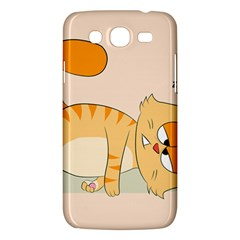 Even Cat Hates Monday Samsung Galaxy Mega 5 8 I9152 Hardshell Case  by Catifornia