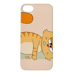 Even Cat Hates Monday Apple Iphone 5s/ Se Hardshell Case by Catifornia
