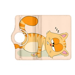 Even Cat Hates Monday Kindle Fire Hd (2013) Flip 360 Case by Catifornia
