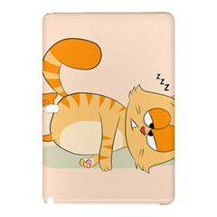 Even Cat Hates Monday Samsung Galaxy Tab Pro 10 1 Hardshell Case by Catifornia