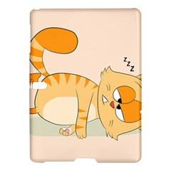 Even Cat Hates Monday Samsung Galaxy Tab S (10 5 ) Hardshell Case  by Catifornia