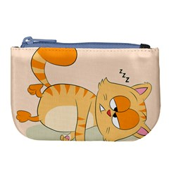 Even Cat Hates Monday Large Coin Purse by Catifornia