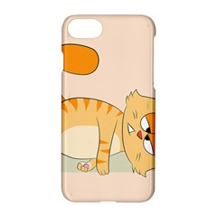Even Cat Hates Monday Apple Iphone 7 Hardshell Case by Catifornia