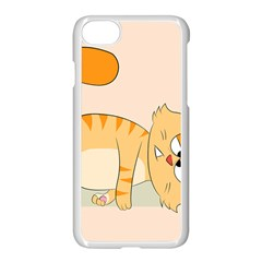 Even Cat Hates Monday Apple Iphone 7 Seamless Case (white) by Catifornia