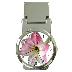 Flower Blossom Bloom Amaryllis Money Clip Watches