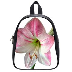 Flower Blossom Bloom Amaryllis School Bags (small)  by Nexatart