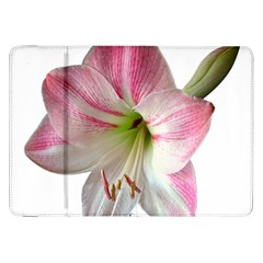 Flower Blossom Bloom Amaryllis Samsung Galaxy Tab 8 9  P7300 Flip Case by Nexatart