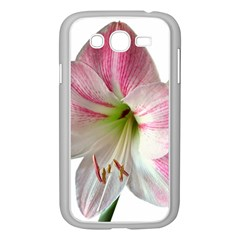 Flower Blossom Bloom Amaryllis Samsung Galaxy Grand Duos I9082 Case (white) by Nexatart