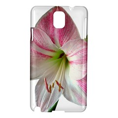 Flower Blossom Bloom Amaryllis Samsung Galaxy Note 3 N9005 Hardshell Case by Nexatart