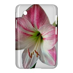 Flower Blossom Bloom Amaryllis Samsung Galaxy Tab 2 (7 ) P3100 Hardshell Case  by Nexatart