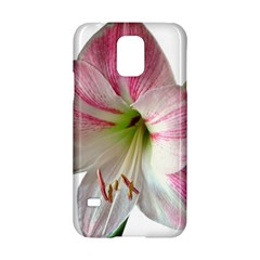 Flower Blossom Bloom Amaryllis Samsung Galaxy S5 Hardshell Case