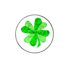 St Patricks Day Shamrock Green Hat Clip Ball Marker (4 Pack) by Nexatart