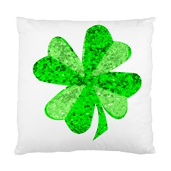 St Patricks Day Shamrock Green Standard Cushion Case (two Sides) by Nexatart