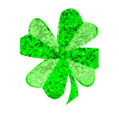 St Patricks Day Shamrock Green 5 5  X 8 5  Notebooks