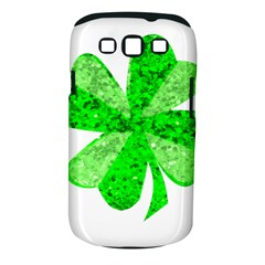 St Patricks Day Shamrock Green Samsung Galaxy S Iii Classic Hardshell Case (pc+silicone) by Nexatart