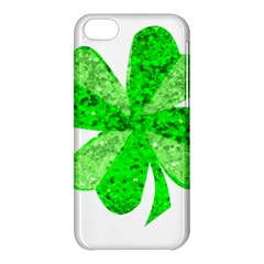 St Patricks Day Shamrock Green Apple Iphone 5c Hardshell Case