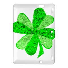 St Patricks Day Shamrock Green Kindle Fire Hdx 8 9  Hardshell Case by Nexatart