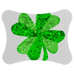 St Patricks Day Shamrock Green Jigsaw Puzzle Photo Stand (bow)