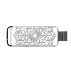 Scrapbook Side Lace Tag Element Portable Usb Flash (two Sides) by Nexatart