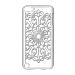 Scrapbook Side Lace Tag Element Apple Ipod Touch 5 Case (white) by Nexatart