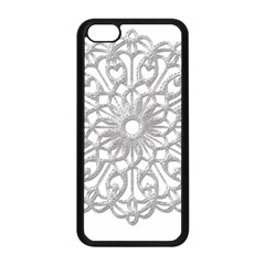 Scrapbook Side Lace Tag Element Apple Iphone 5c Seamless Case (black) by Nexatart
